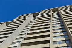 Condo building in Montreal downtown. Canada Royalty Free Stock Photography