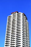 Condo Building. New Modern Condo Building Living Space Downtown royalty free stock images