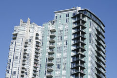 Condo Building Vancouver Royalty Free Stock Photography