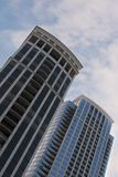 Condo Buildings Royalty Free Stock Photography
