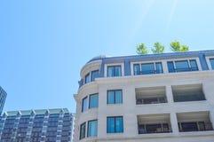 Condo buildings in Montreal. In Canada Royalty Free Stock Photos
