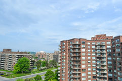 Condo buildings in Montreal Stock Photography
