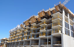 Condo construction Royalty Free Stock Images