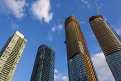 Condo construction in Canada Stock Photo