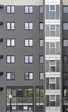 Condo. New condo building with gray exterior Stock Image