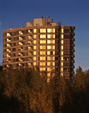 Condo in the sunset Stock Image