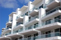 Condo Terraces Royalty Free Stock Photo