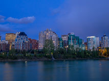 Condo towers in urban Calgary Stock Images