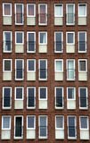 Condo Windows Stock Photo