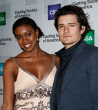Condola Rashad, Orlando Bloom Royalty Free Stock Image