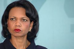 Condoleezza Rice Royalty Free Stock Images