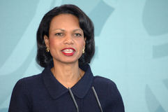 Condoleezza Rice Stock Photo