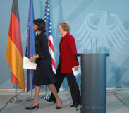 Condoleezza Rice Angela merkel 2005 Stock Photography