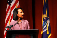 Condoleezza Rice at Michigan Stock Image