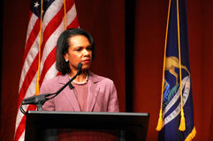 Condoleezza Rice at Michigan Royalty Free Stock Photography