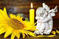 Condolence card Stock Photography