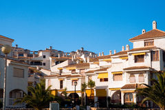Condomínio de Spain Fotografia de Stock Royalty Free