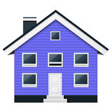 Condomínio escandinavo - condomínio suburbano Imagem de Stock Royalty Free