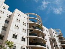 Condomínio executivo moderno dos apartamentos Fotografia de Stock Royalty Free