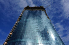 Condomínio luxuoso que constrói Waiea sob a construção Fotos de Stock