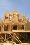 Condomínio sob a construção Foto de Stock
