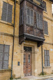 Condomínio tradicional do otomano, Nicosia, Chipre Fotos de Stock Royalty Free