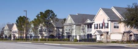 Condomínios coloridos Foto de Stock Royalty Free