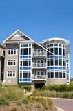 Condomínios da praia Foto de Stock