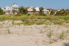 Condomínios da vista para o mar Imagem de Stock Royalty Free