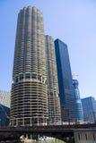 Condomínios de Chicago Fotografia de Stock