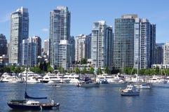 Condomínios do arranha-céus de Vancôver Imagem de Stock Royalty Free