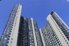 Condomínios do arranha-céus em Banguecoque, Tailândia Imagem de Stock