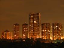 Condomínios e prédios de escritórios Imagem de Stock