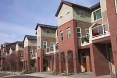Condomínios modernos, Portland OU. Imagem de Stock