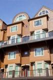 Condomínios modernos, Portland OU. Foto de Stock Royalty Free