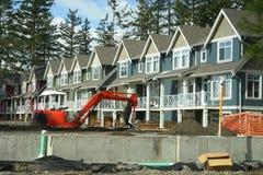 Condomínios novos Canadá BC Imagem de Stock
