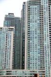 Condomínios novos de Toronto Fotos de Stock