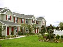 Condomínios recentemente construídos Imagens de Stock Royalty Free