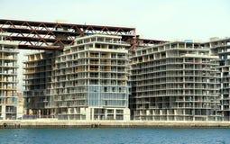 Condomínios sob a construção Fotografia de Stock