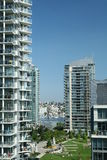 Condomínios urbanos Imagem de Stock Royalty Free