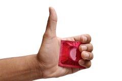 Condom concept 2 Stock Photos