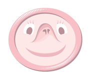 Condom with funny face Stock Photography