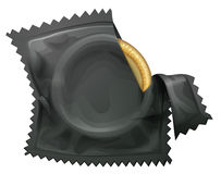 A condom Royalty Free Stock Photography