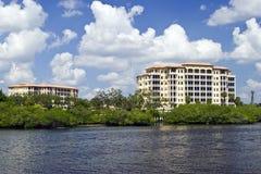 Condomini del lusso della Florida Fotografie Stock Libere da Diritti