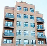 Condomini di Brooklyn New York Immagini Stock Libere da Diritti