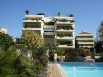 Condomini di lusso a Atene immagini stock libere da diritti