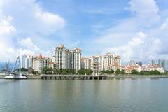 Condomini di Tanjong Rhu immagine stock
