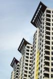 Condomini moderni della costruzione Immagini Stock Libere da Diritti