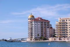 condominio del bayfront Fotografia Stock Libera da Diritti