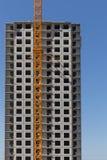 Condominio dell'appartamento della costruzione della nuova costruzione Fotografie Stock Libere da Diritti